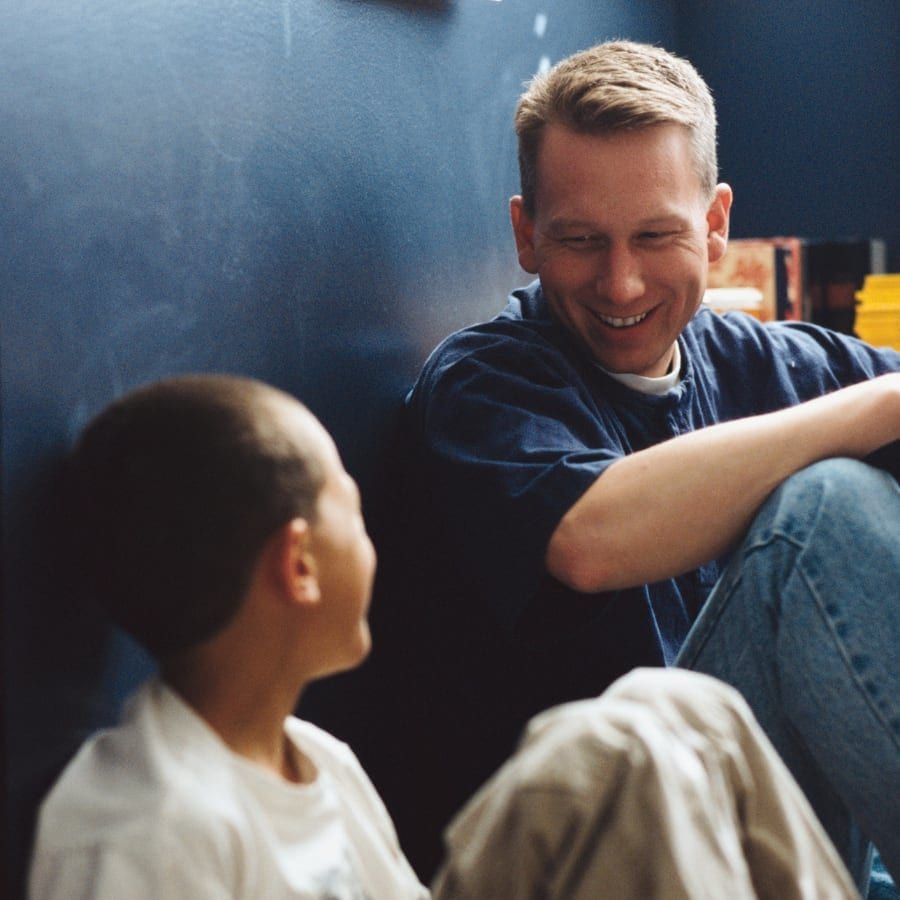 dad-and-son-talking