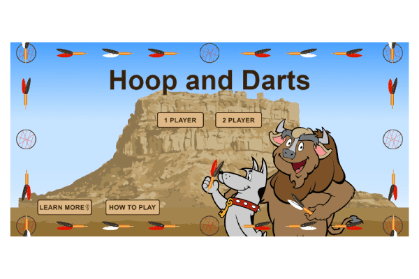 Hoop Darts Game Graphic