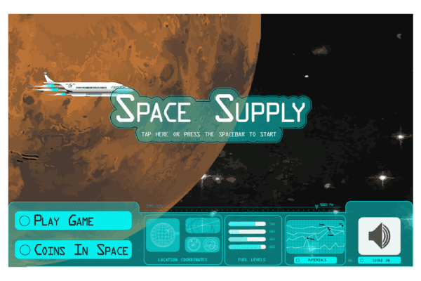 Space Supply Game Graphic