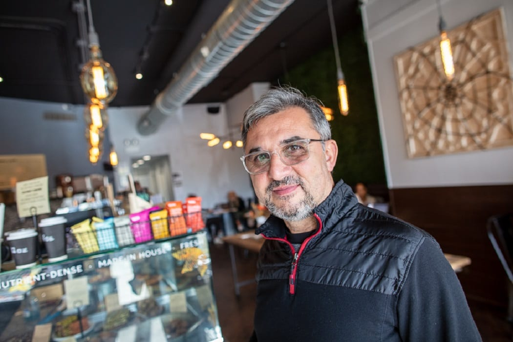 Owner of the Oromo Cafe