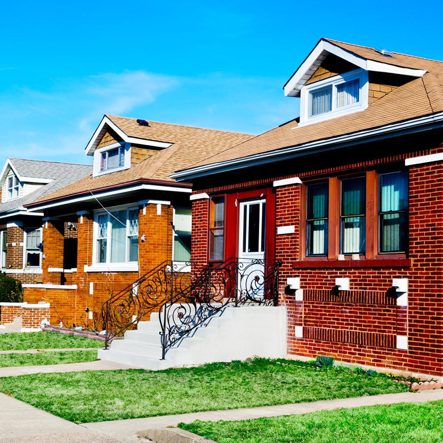 Row of Chicago Homes